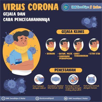 Infografis, Virus Corona (Covid-19)