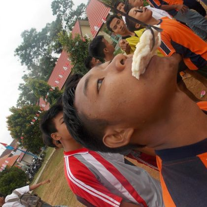HUT INDONESIA KE 71 SMK SWADHIPA 2 NATAR